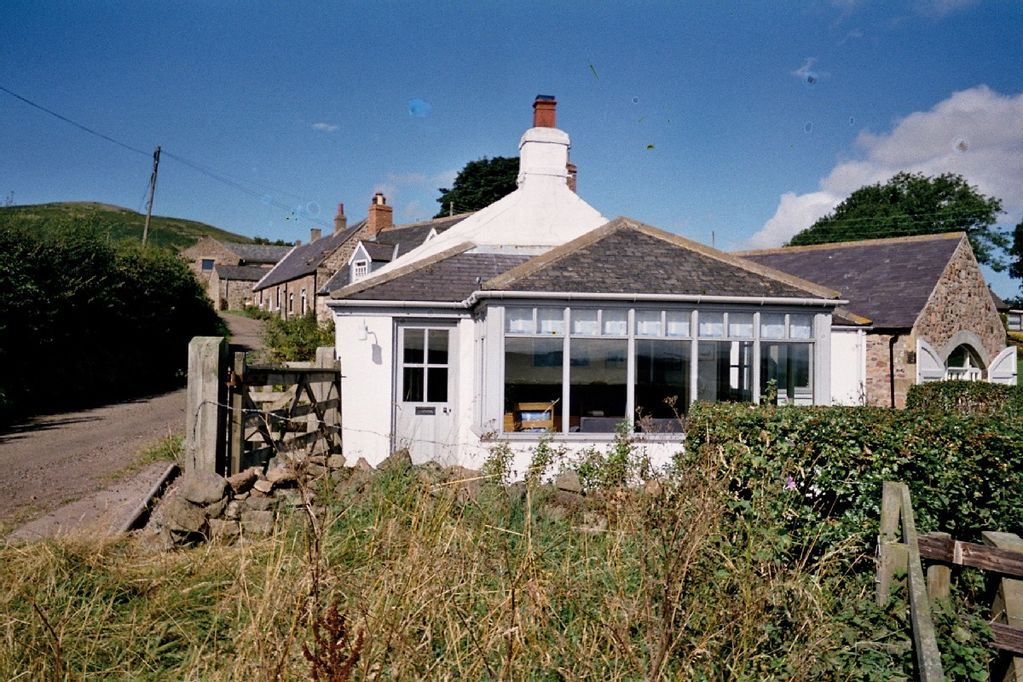 Old stone cottage with wonderful views over the Glendale Valley  - Wooler