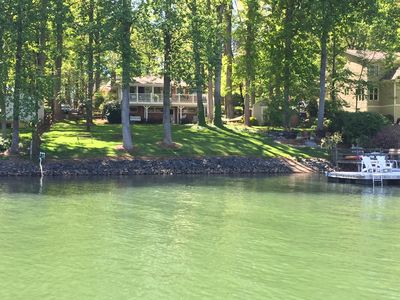 "Photo for Charming Lake Norman Home- Beautiful Quiet Cove ""Great for Family's."""