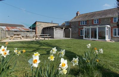 Photo for Peaceful and picturesque farmhouse near Charmouth and Lyme Regis