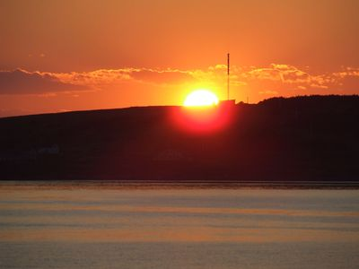 Photo for New  Beachfront  Post+beam Cottage, Amazing Sunsets and Just Off Cabot Trail