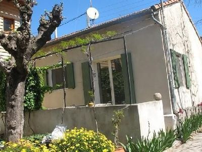 Photo for House with shaded terrace and spa in NÎMES