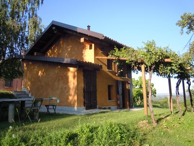 Photo for Romantic cottage in the vineyard, Pinerolo -Turin