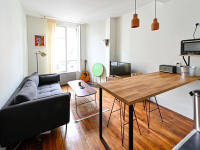 Photo for Nice apartment with view SACRE COEUR