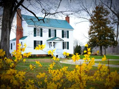 Photo for Step Back Into The Mid 19th Century! Enjoy An Idyllic Virginia Country Retreat.