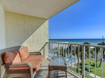 Photo for 1-Bedroom Beach-front Condo – Lovely Balcony Views by Resort Collection