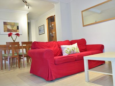 Photo for Central apartment, WiFi, private terrace