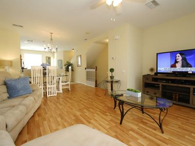 Photo for Disney On Budget - Vista Cay Resort - Beautiful Contemporary 3 Beds 4 Baths Townhome - 7 Miles To Disney