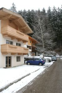 Photo for Ferienwohnug the woods edge, directly on the toboggan run and only 100m from the ski slopes