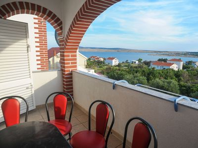 Photo for Apartment RB  A10(4+2)  - Novalja, Island Pag, Croatia