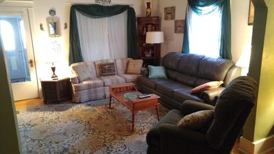 Photo for Budget Home.  Walking distance to restuarants and bars.
