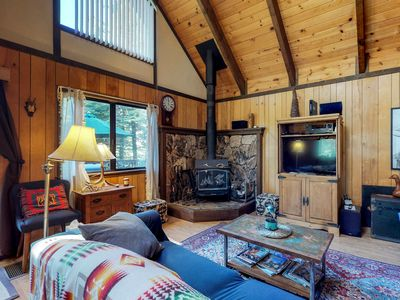 Photo for NEW LISTING! Dog-friendly Blue Springs Lake cabin with shared pool near skiing