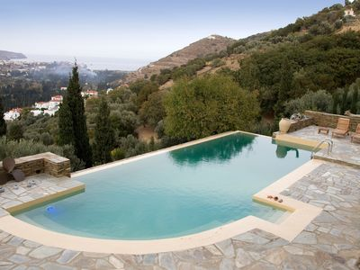 Photo for On A Lush Hill A Secluded Country Home With Infinity Pool And Endless View