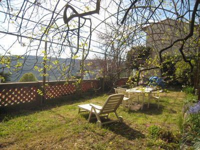 Photo for COTE D'AZUR, detached house with large garden in typical village
