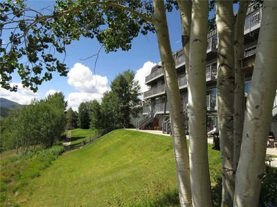 Photo for Condo Overlooking Lake Dillon - In-Town with Big Yard, Mountain Views, Walk to Marina, Amphitheater