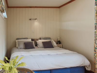 Photo for Comfortable Self Contained Cabin for up to two guests in the heart of Tolaga Bay