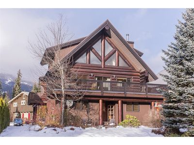 Photo for Newly Renovated Log Cabin near Whistler Village with Massive Mountain Views