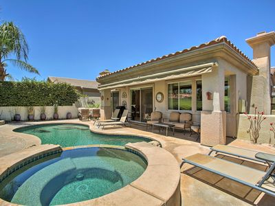 Photo for NEW! Palm Desert Home on Golf Course w/Pool & Spa!