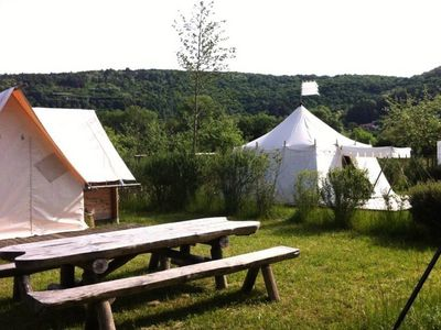 Photo for Camping La Roche d'Ully **** - Canadian Lodge 3 Rooms 4 People No Sanitary