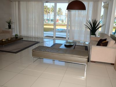 Photo for Air-conditioned apt Furnished Sea Front - 6 GUESTS