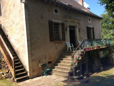 Photo for Lovely 19th century limestone farmhouse with 5 bedrooms set in own land.