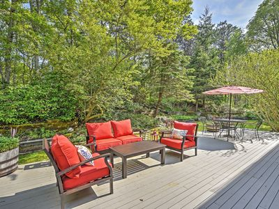 Photo for NEW Gorgeous Home w/Large Deck-1.5 Miles To Beach!