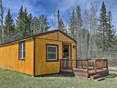 Photo for NEW! Black Hills Forest Cabin - 3 Mi to Hill City!