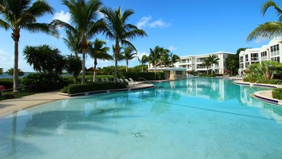 The largest pool in all of the Florida Keys.