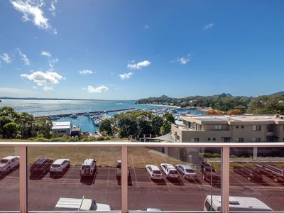 Photo for Right in Nelson Bay and with views over the marina.