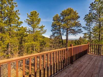 Photo for Mtn-View Alto Home on 1 Acre, 13Mi to Skiing!