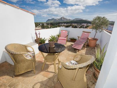 Photo for Can Grande - Stunning, renovated old town Alcudia townhouse