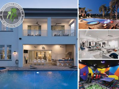 Photo for Modern World Luxury | Secret Playroom, Movie Room, Water Cannon, Pool