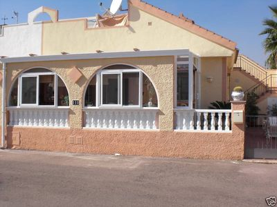 Photo for Nice house, minutes from the beach, pool, air conditioning