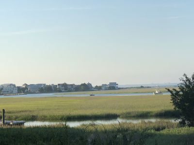 Photo for Creek front and quiet on Bald Head Island.  Golf, tennis, & beach club available