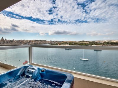 Photo for Captivating Views Seafront Sliema Apartment