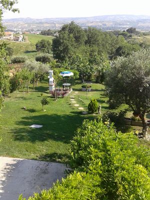 Photo for Villa Giuseppe - Apartment immersed in the green hills 3 Km from the sea