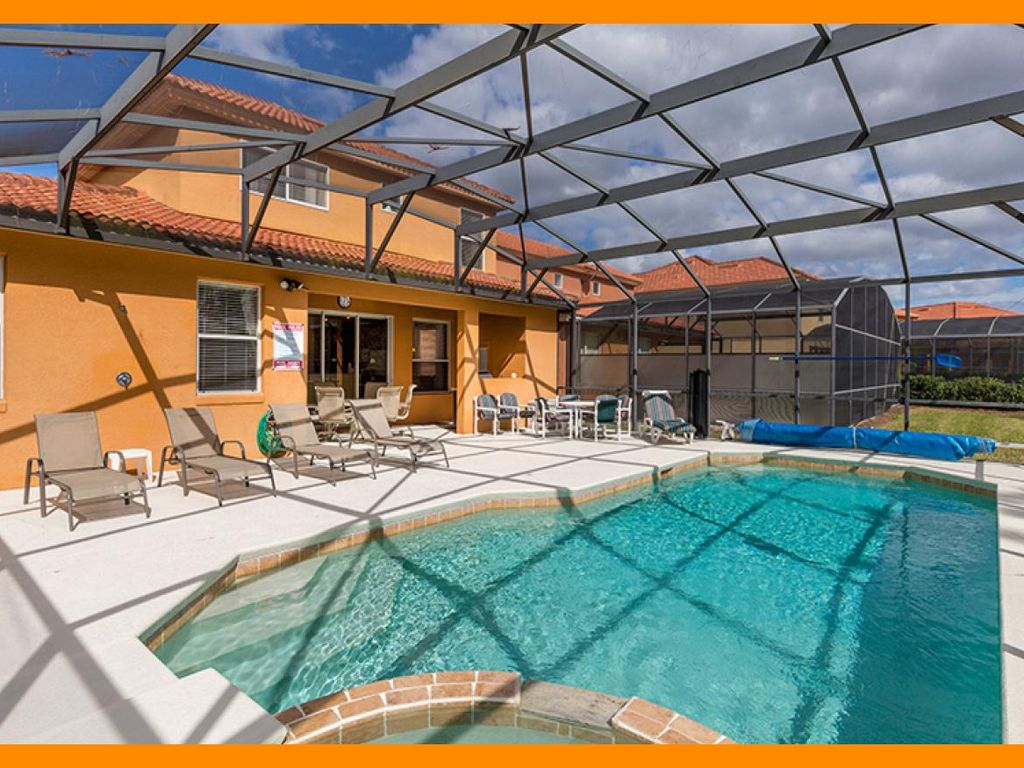 Watersong Resort 3 - Modern villa with private pool & game room, near Disney