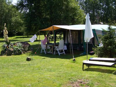 Photo for Holiday farm; 3 gites & 8 permanent tents, spacious, comfortable, child-friendly