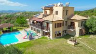 The villa is spacious and set in a lovely position. It could do with some updating but was pleasa...