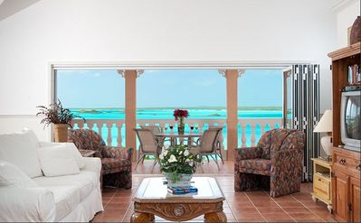 Photo for Quiet Waterfront Estate, Amazing Views, 2 Pools, 2 Minutes to the Beach