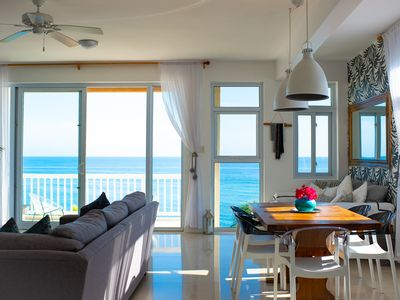Photo for Modern Oceanfront Penthouse in Ocho Rios
