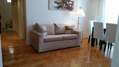 Photo for Departamento Arenales en Recoleta con Internet WIFI y cocina