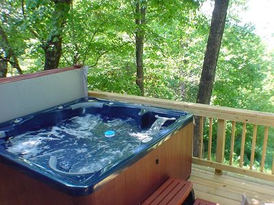 Six-Person Hot Tub On A 'Deck In The Trees'
