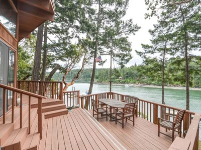 Photo for Great Waterfront Home on Neil Bay near Roche Harbor with Private Dock!