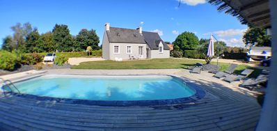Photo for House with heated pool 800 m from the sea