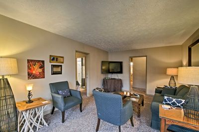 'Copper Creek' is a 3-bedroom, 2-bath vacation rental apartment for 5 guests.