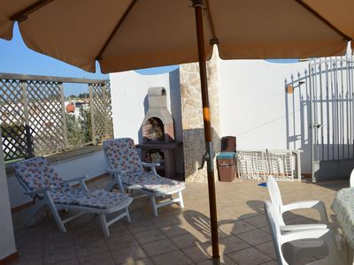 Photo for House with barbecue with 2 bedrooms 300mt from the sea Lido Marini