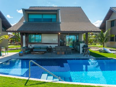 Photo for Pé na Areia Bungalow in front of the Natural Pools of Muro Alto