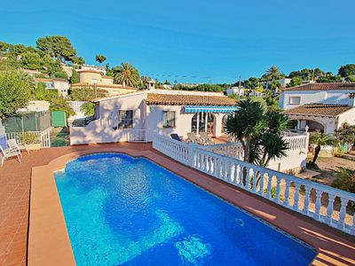 Photo for El Molino - well-furnished holiday villa in Benissa
