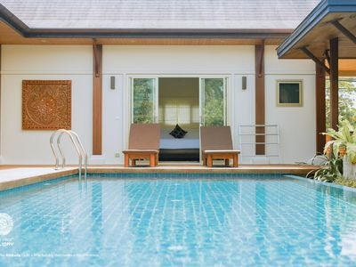 Photo for VW4:ORLY Oriental Villa 4BR Private Pool-Layan Bach