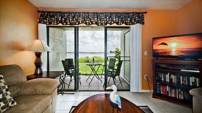 Photo for Private Corner Unit @ Runaway Bay! Bayfront Views for Boat & Birdwatchers!